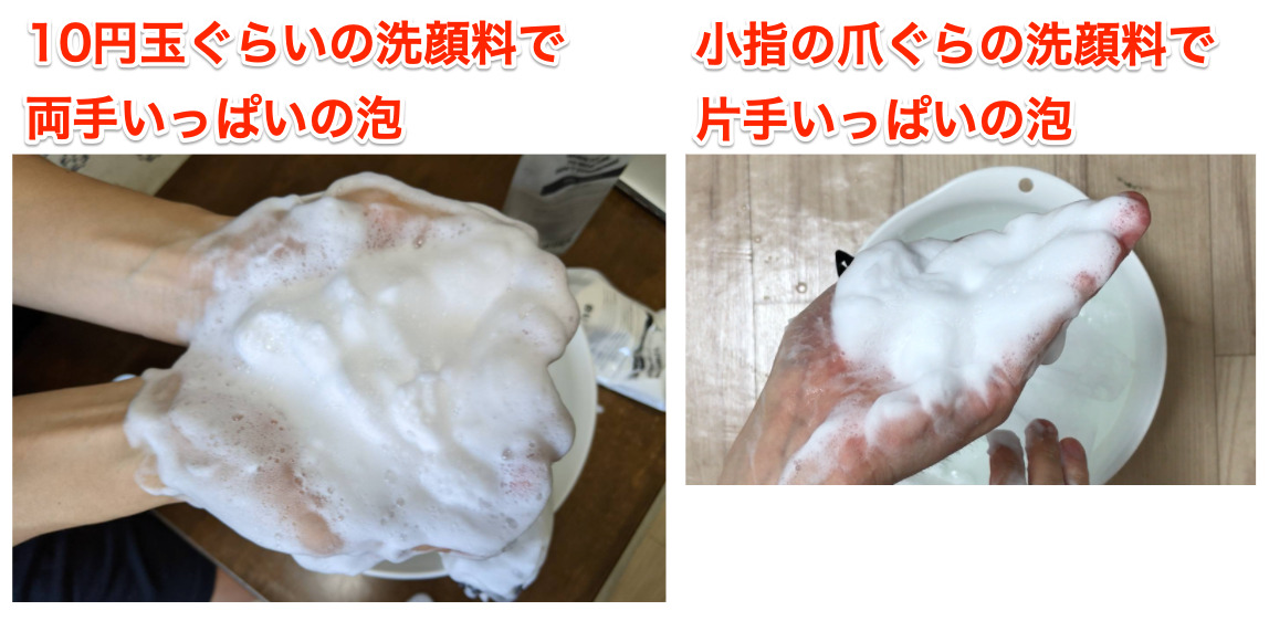 【実証】バルクオムの洗顔料ってどのくらい持つ?1パック何日分か測定してみた!